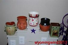 Scentsy Full Size Warmers Retired, Rare, HTF