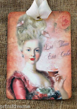Hang Tags  FRENCH MARIE ANTOINETTE EAT CAKE TAGS #198  Gift Tags