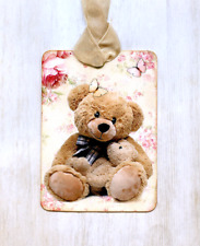 Hang Tags  ADORABLE BEAR AND BABY TAGS or MAGNET #165  Gift Tags