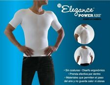 2 POWER ABS HOMBRE,powerabs,elegance leggins,camiseta,t-shirt,hot thermo shaper