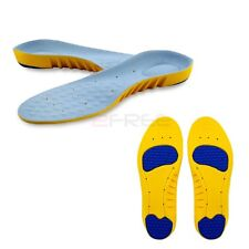 1Pair Super Memory Foam Orthotic Arch Sports Support Shoe Insoles Pain Relief
