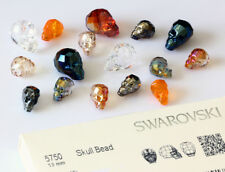 Genuine SWAROVSKI 5750 Skull Beads - All Colors & Sizes