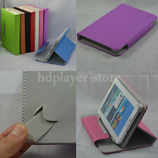 "Colorful Flip PU Leather Case+Stylus+Film For 9"" ZTO 9-Inch Android 4.1 Tablet"