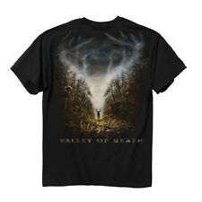 Buck Wear, Valley of Death - Men's 100% Cotton Black Hunting T-Shirt