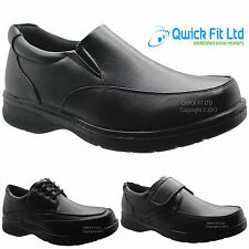 NEW MENS COMFORT XTRA SHOES FORMAL DRESS OFFICE WORK CASUAL SIZE 6-12 UK