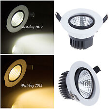 6W 9W 12W 15W Dimmable COB LED Ceiling Recessed Spot Light Lamp Bulb Driver Lots