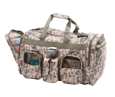 """Deluxe Military Army ACU Digital Camo Camouflage Duffel Duffle Bag Bags 22"""""""