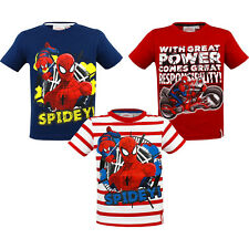 Marvel Spiderman T-Shirt  Shirt Sommer Junge +++NEU+++  98 104 110 116 122 128