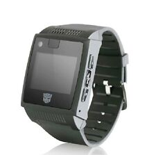 Quad Band GSM Mobile Cell watch phone Cellular bluetooth MP3/4 USB handwriting