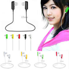 Wireless A2DP Stereo Bluetooth Headset Earphone For iPhone Samsung LG Cell Phone