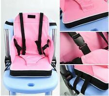 High Quality Two Color Portable Kids Dining Chair  Fold up  Baby Booster Seats