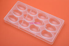 Chocolate Mould Polycarbonate PC Easter Egg Candy Mold Sugar Craft Glossy Finish