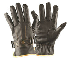 Mark Todd Soft Premium Leather Horse Riding Winter Gloves with Thinsulate Liners