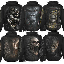 SPIRAL DIRECT MEN'S WATERMARK HOODIE RANGE Goth Rock Street Fantasy Tattoo