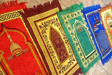 TRAVEL WORK PLACE & CHILDREN PRAYER MAT JAEY NAMAZ,SALAH MAT+FREE TALLY COUNTER