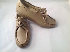 SAS SIESTA MOCHA  women's oxford tie shoes made in San Antonio Texas USA