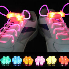 Sexy&Cool Fancy LED Light Up Shoelaces Shoestring Flash Luminous Party Disco