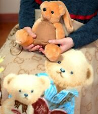 Teddy Bear Blanket-Authentic. Warm & Soft in Baby's room, Bedroom, Office or Car
