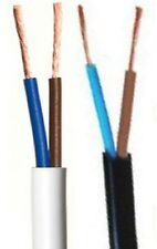 Lighting Cable Flat Flex 2192Y 2-Core 0.5mm² cut lengths Black White Gold/yellow