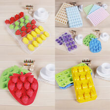 NEW Multi-Shape Jelly Pudding Chocolate Cake Ice Tray Mold Mould Cube Maker #N3