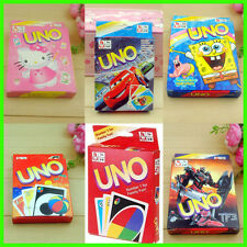 5 Designs Uno Card Game for Family, Children and Friends 108 Playing Cards!