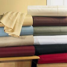 BRAND NEW 1000 TC 100% EGYPTIAN COTTON KING STRIPE  GREAT USA BEDDING COLLECTION