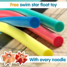 Pool Noodle choice of colours FREE float toy with every noodle