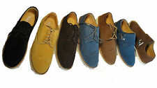 MEN'S SUEDE LACE UP/VELCRO CASUAL FORMAL DESERT TRAINERS SHOES SIZE 6-11 UK