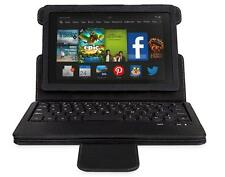 "For Amazon Kindle Fire HD/HDX 7.0""/8.9''Detachable Bluetooth Keyboard Case black"