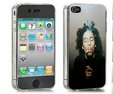 Bob Marley Iphone Case (Fits 4/4s,5c.5/5s) Smoke Puff
