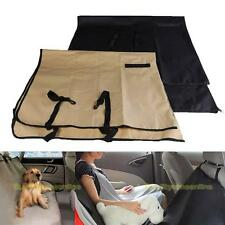 #QZO Washable Linen Waterproof Pet Dog Cat Rear Back Seat Cover for Car Vehicle
