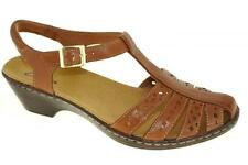 Clarks Wendy Lily Womens Shoes Tan Wide Widths Style 65111