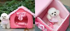 Princess Lace House Pet Teddy Dog Pet Kennel Cat Litter Nest Bed Lovely House