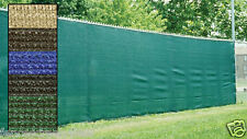 Standard Privacy Fence Screen Mesh Shade Cloth W/Grommets 85% Blockage