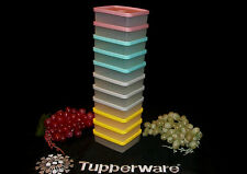 Tupperware SHEER Mini Square-A-Way Sq Round Snack ~Color CHOICE ~Lunch Box