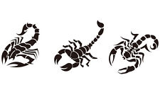 Wall Tattoo Scorpion M 1-3 Piece To 30cm Wall Stickers