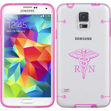 For Samsung Galaxy S3 S4 S5 Clear Hard TPU Case Cover RN Registered Nurse