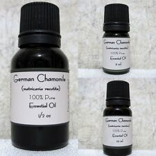 German Chamomile Pure Essential oil Buy any 3 same size  get 1 Free