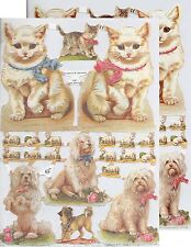 Chromo EF - Décroupis Animal Chat Chien - Cat Dog N° 7067