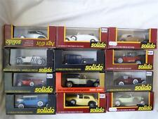 Solido Age d'or 1:43 Scale Diecast Cars / Vehicles + Case Select One