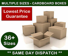 Cardboard Boxes (Cartons) for Postal, Packing, Mailing, Removals or Storage