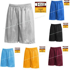 Men's Mesh Jersey Athletic Fitness Workout Shorts With Pockets Any Colors S-5XL