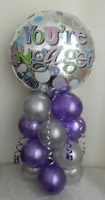 YOU'RE  ENGAGEMENT  - PARTY  BALLOON - FOIL BALLOON DISPLAY - TABLE CENTREPIECE