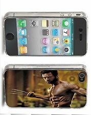 The Wolverine Iphone Case (Fits 4/4s,5/5s,5c) Hugh Jackman Ripped