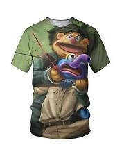 All Over 3D Print No Country For Old Puppets Mens And Ladies T Shirts, All Sizes