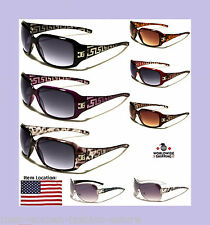 Women Girls Ladies Designer Sunglasses Shades Black Purple Maroon Burgandy DG CG