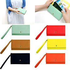 For Samsung Galaxy Note 3/2 S5/S4/S3/2 Envelope Zip Wallet Purse Card Case Cover