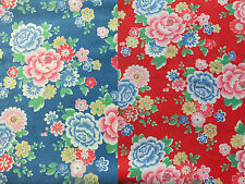 Beautiful Cath Kidston Norwich Rose Velvet Fabric, Choice of Size / Colour