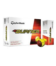 TAYLORMADE BURNER GOLF BALLS YELLOW BRAND NEW MULTI BUY DEAL
