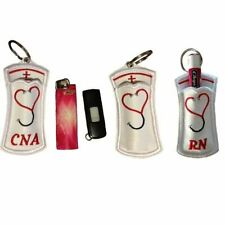 Nurse Chapstick Holder Key Fob (make great gifts)
